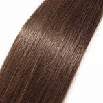 200 Extensions Keratine Extension Cheveux Naturel Pose a Chaud - Pre Bonded Nail U Tip Remy Hair Extensions 200 Mèches/100g (40cm/16 pouces, #04 Marron chocolat) de la marque UK-Fashion-Shop image 3 produit