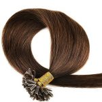 200 Mèches Extension Cheveux Naturel Keratine Cheveux a Chaud Pre Bonded Remy Human Hair Extensions #04 Marron chocolat, 50cm de la marque UK-Fashion-Shop image 1 produit