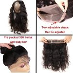 360 Lace Frontal Closure Ondule Tissage Bresilien 8A With Baby Hair 14pouces=35cm 100% Cheveux Humain Naturels Virgin Hair Body Wave RICHAIR de la marque Richair image 2 produit