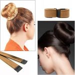 Bestidy 3PCS Perruque de cheveux Bun Disk Maker Donut Hair Piece Bob Maker Outil cheveux Light Golden Black de la marque Bestidy image 5 produit