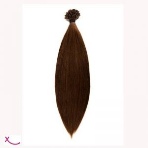 Extiff - Extension cheveux naturel keratine - 20 extensions de 60cm - 14 couleurs (4 - Chocolat) de la marque Extiff France image 0 produit